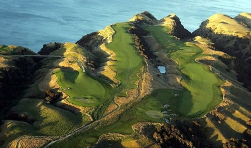 Cape Kidnappers Looks a Little Penal.