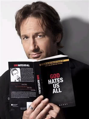 Hank Moody sees your issues, and raises them.